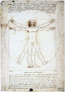"Leonardo, ""The Vitruvian Man"""
