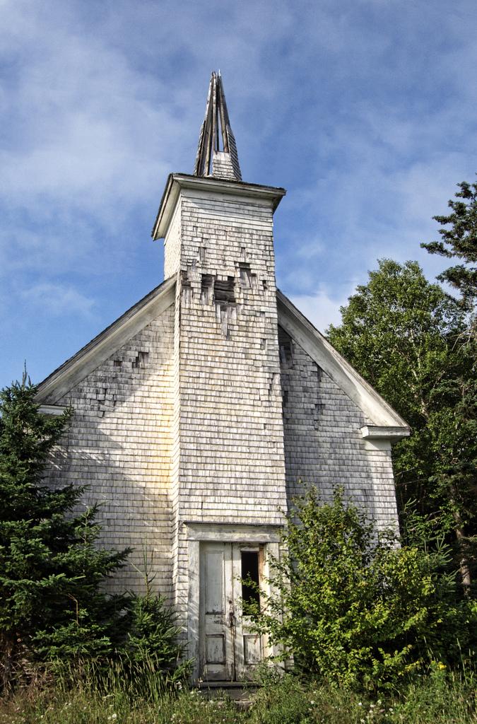 Abandoned church in Nova Scotia