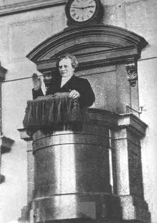 C.O. Rosenius preaching