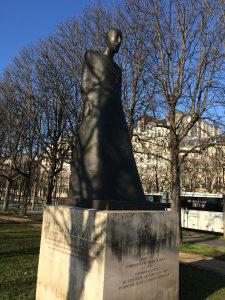 The Komitas Armenian Memorial in Paris